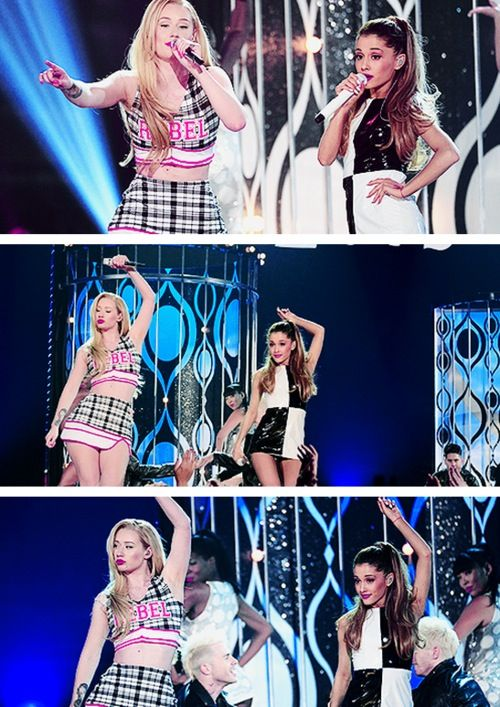 ♡ Iggy Azalea & Ariana Grande ♡ two of the prettiest girls EVER especially IGGY!!!!!!! But I love you arianna