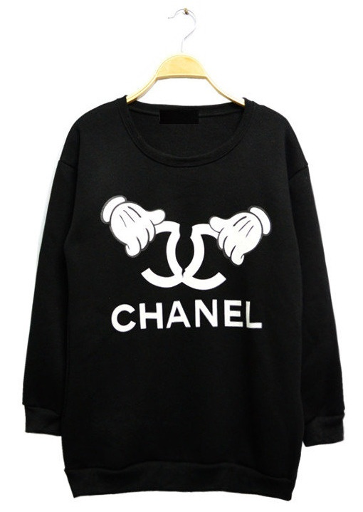 Mickey Chanel Sweater Style Pinterest And Sweatshirts