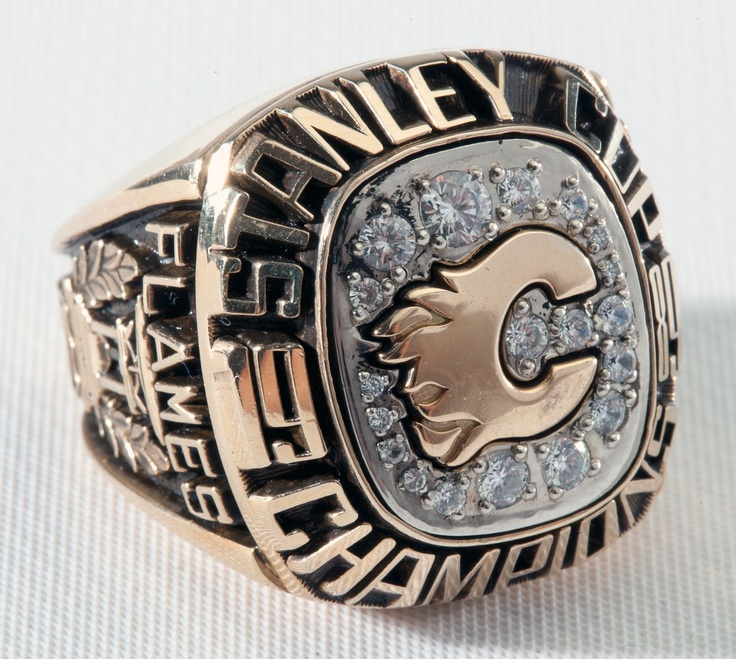 Calgary Flames Staney Cup Ring 1989