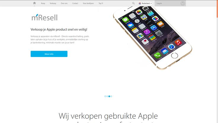 Koop of verkoop refurbished Apple producten | mResell