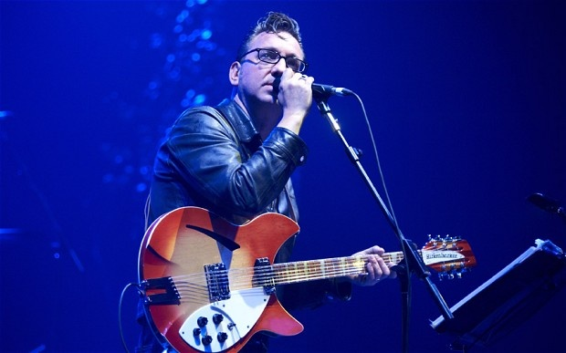 Richard Hawley performing at the O2 Academy in Brixton.