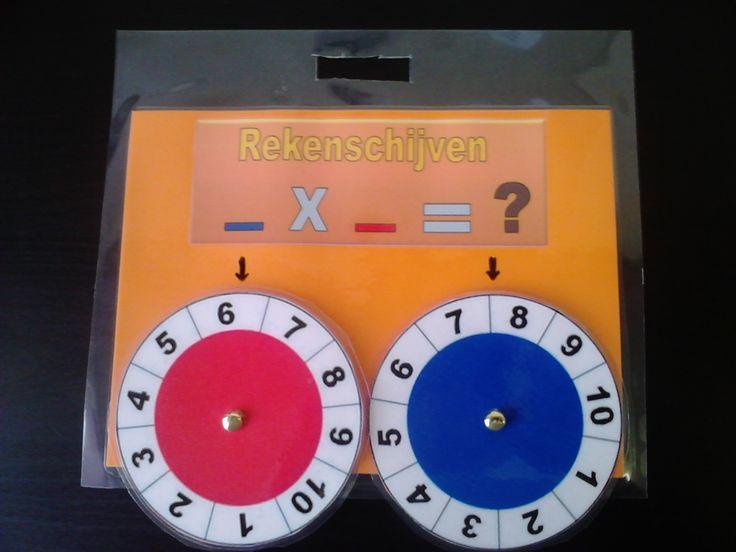 Tablas de multiplicar en ruedas.