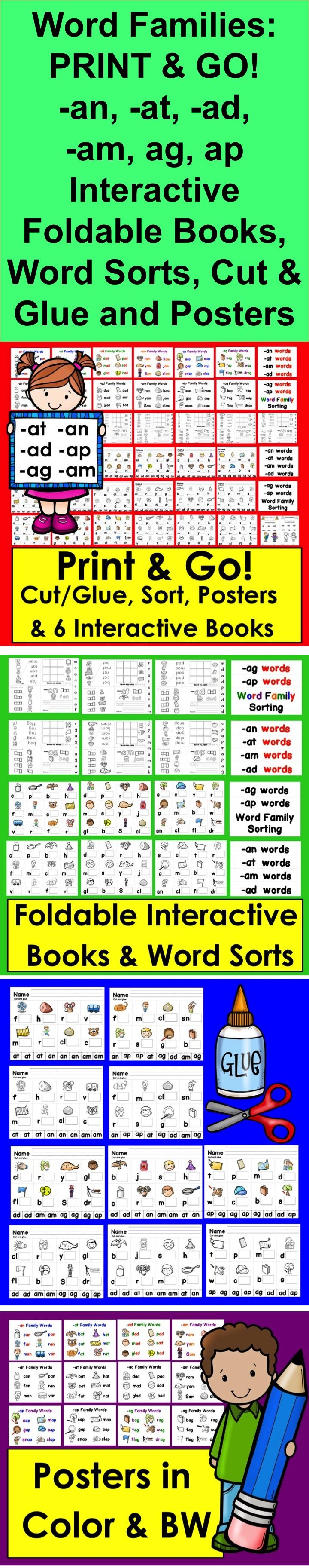 variations of the word family Word families are groups of words that have a common pattern they sound  similar sound as they possess same combinations of letters in them for example .