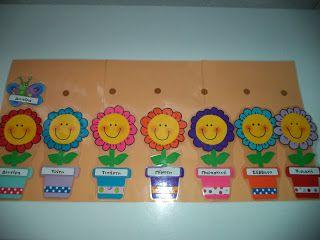 Ο κήπος με τα χρώματα!: Ιδέα για πίνακα - ημερολόγιο