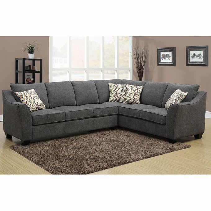 Yarrow Fabric Sectional Living Room Set