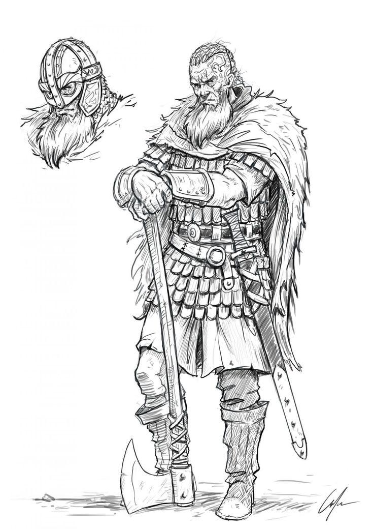 Рисунки картинки викинги