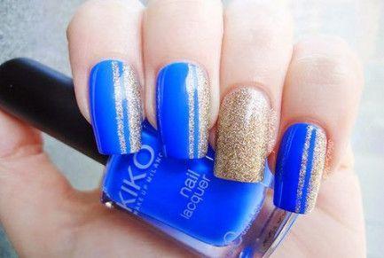 dunkelblaue Winternägel   – Nails Winter