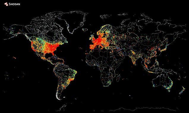 Worldwide Internet Connection S Kort Internet Fremtiden