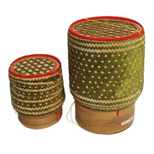 Sticky Rice Serving Baskets, Imported from Thailand » Temple of Thai Kitchenware