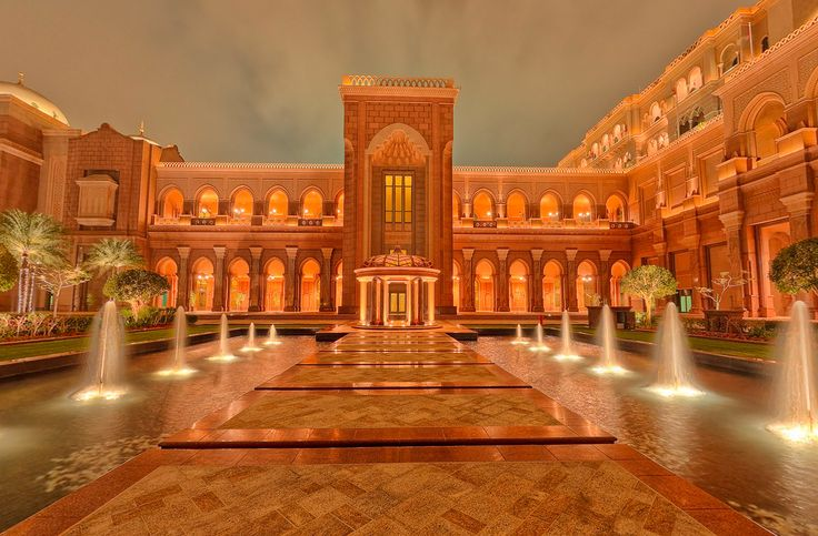 Emirates Palace is the definition of an unrivaled Arabian fantasy in Abu Dhabi