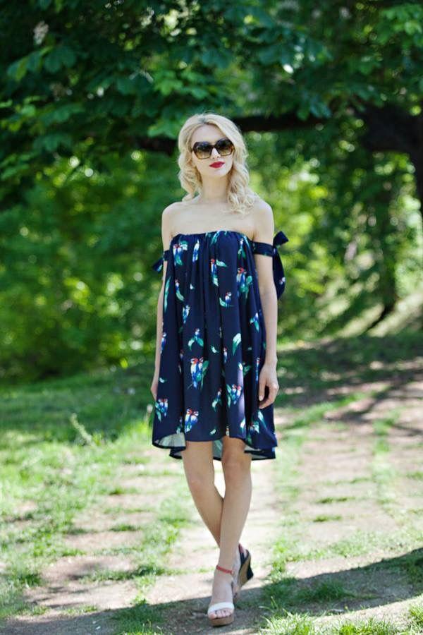 Summer Birds dress