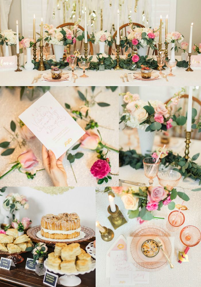 Celebrate your best girlfriends by hosting your