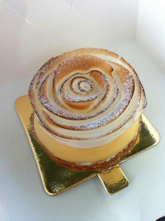 Lemon merinque pie..Adriano Zumbo-ate this today mmmmmm