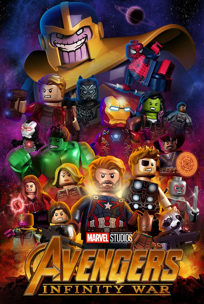 Lego Avengers Infinity War By Mnap73 Thanos And Black Order Lego