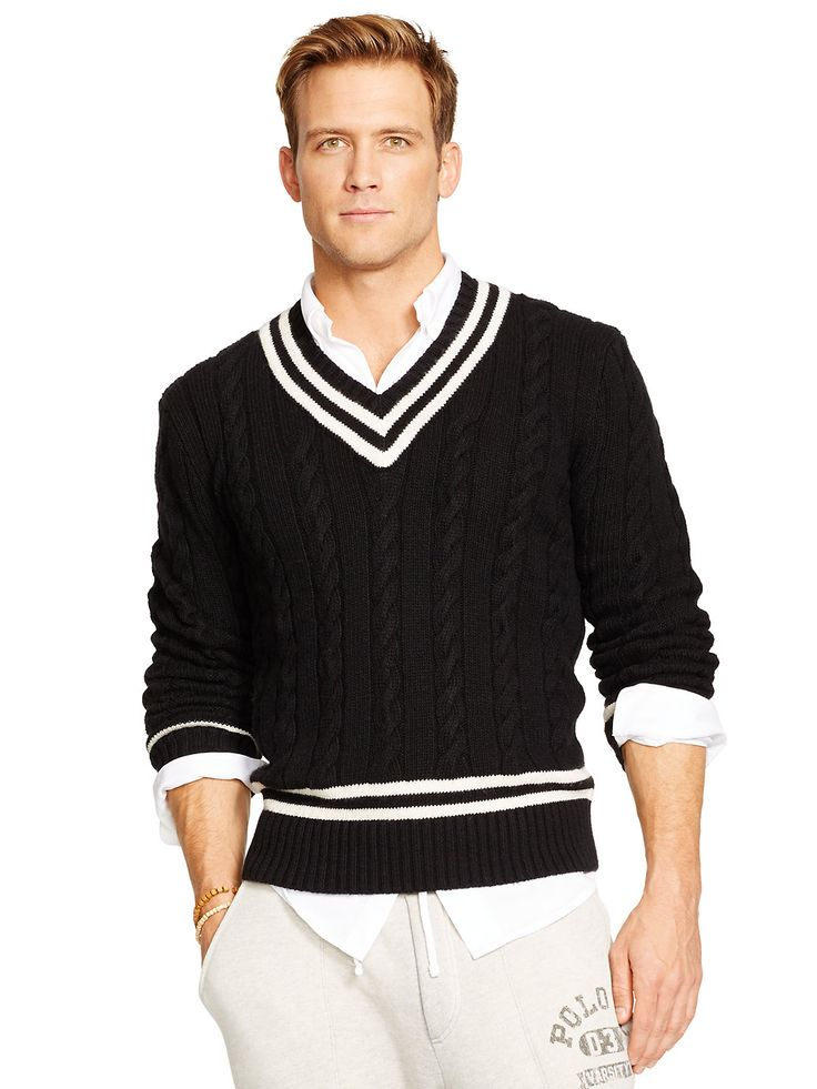 Knitting Pattern For Cricket Sweater : 1000+ images about Cricket jumpers on Pinterest Ralph lauren, Polos and Rugby