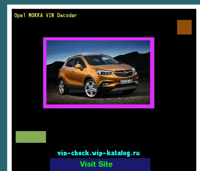 17 Best ideas about Opel Mokka on Pinterest | Opel manta ...