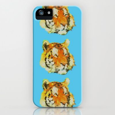Tigers iPhone & iPod Case by Nahal - $35.00