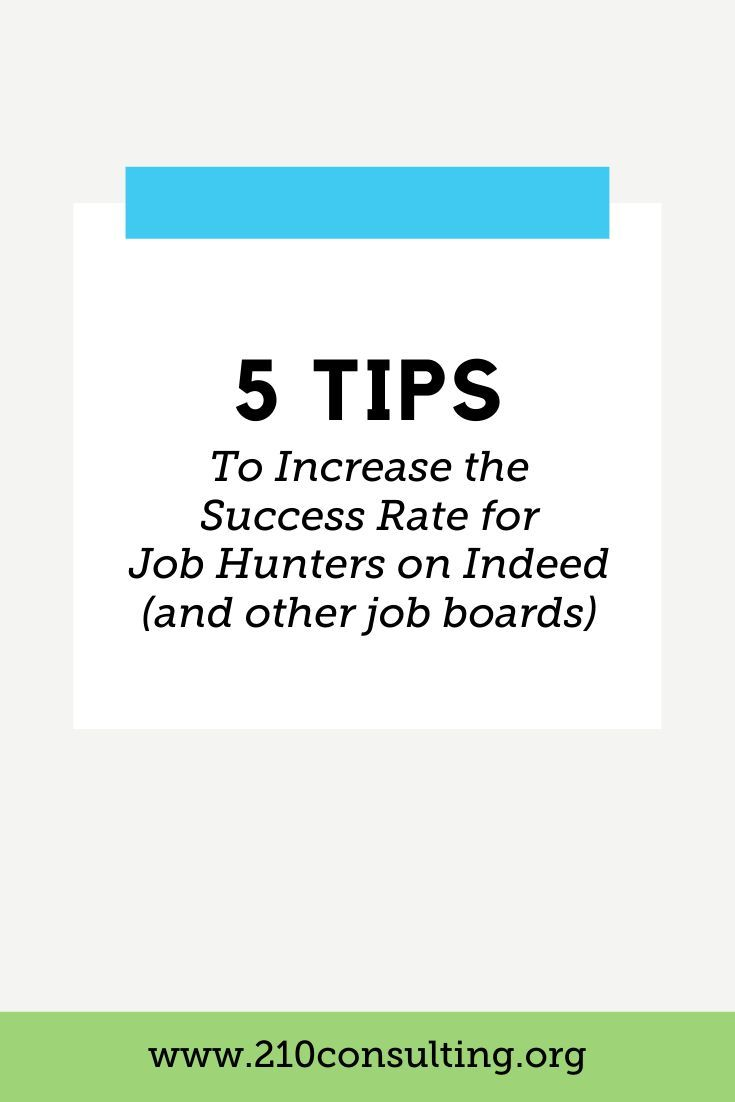 Five Tips For Applying On Indeed And Other Job Boards Job