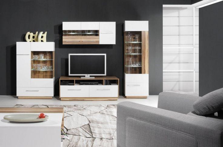 Nábytek do obývacího pokoje Orbit 5 je na výběr ze dvou barev. Cena 16 664,- http://www.mabyt.cz/32460-levna-obyvaci-stena-orbit-5.htm