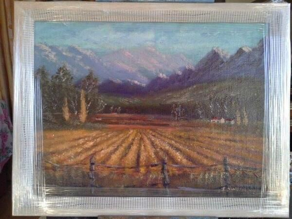Farmscene 4 by Johannes Swanepoel.  Copyright (c) 2013 VDMFK