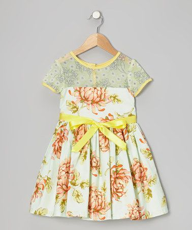 Take a look at this Sweet Clementine Dress - Infant, Toddler & Girls by Moxie & Mabel on #zulily today!