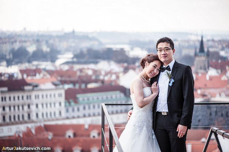 Wedding photographer in Prague