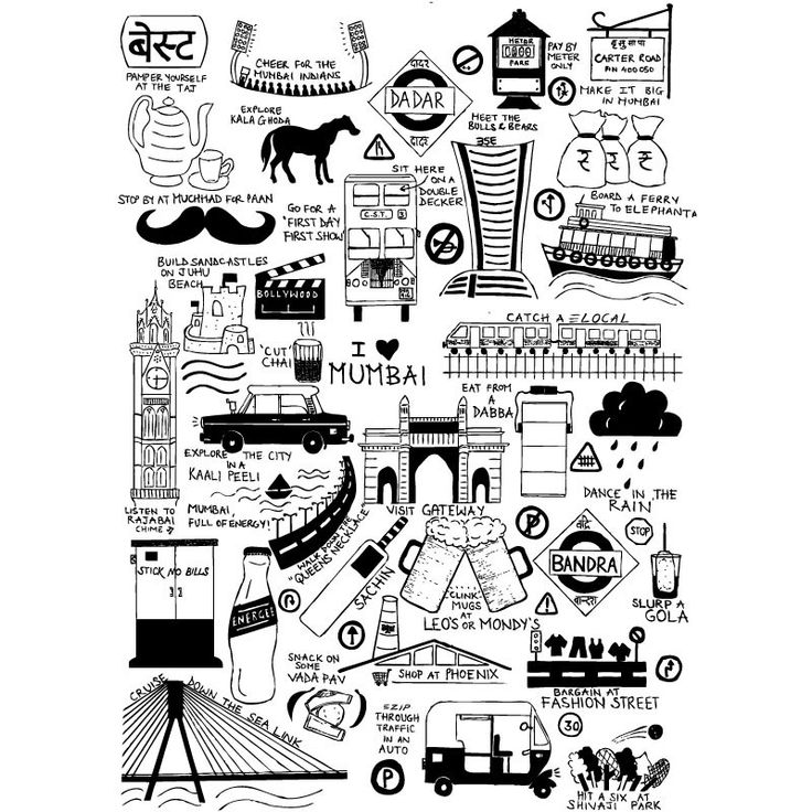 I Love Mumbai/Bombay Poster | Buy Posters online | Buy Frames online | thesouledstore.com