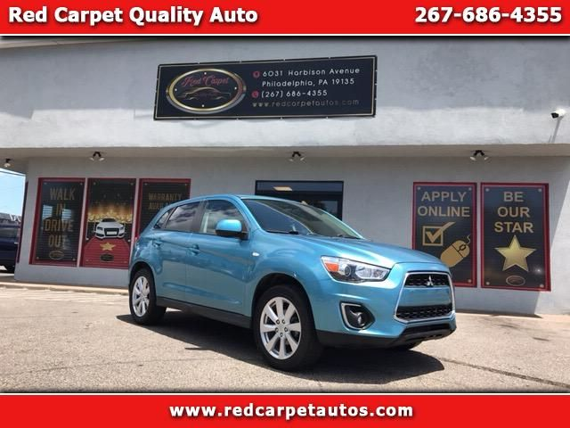 Used 2013 Mitsubishi Outlander Sport ES 2WD for Sale in Philadelphia PA 19135 Red Carpet Quality Auto