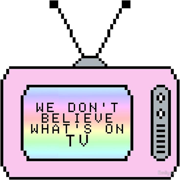 Ombre Pastel Pixel TV Lyrics