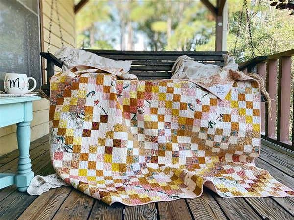 Quilt Reveal Trippy Quilt 3 The Golden One Pattern Tester Versions Quilts Charm Quilt Quilt Block Patterns