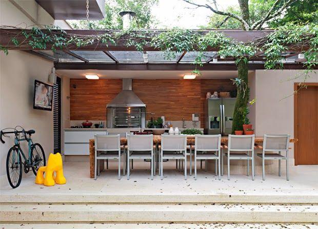 Decor Salteado - Blog de Decoração e Arquitetura : Áreas de churrasco decoradas + 10 tipos de churrasqueiras!