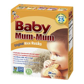 Baby Mum-Mum - All Natural Rice Biscuits for Kids