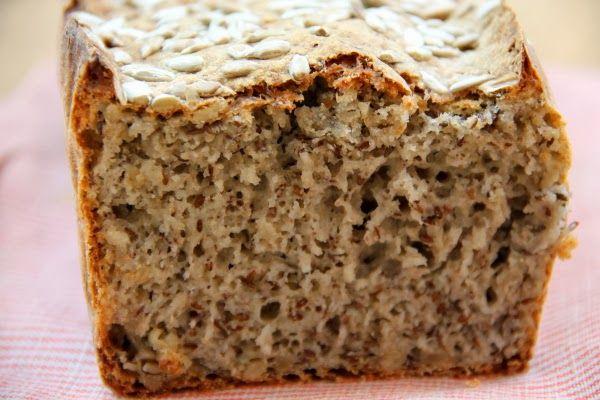 Kuchnia w wersji light: Chleb bezglutenowy ze słonecznikiem