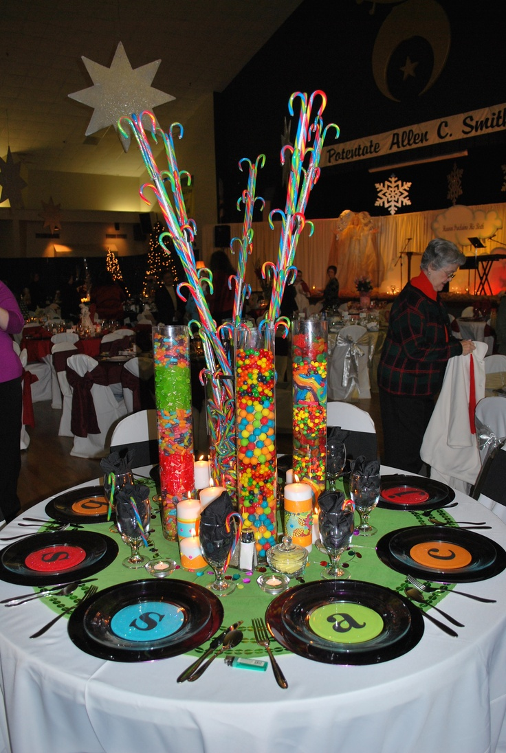 Hockey Table Decor For Parties
