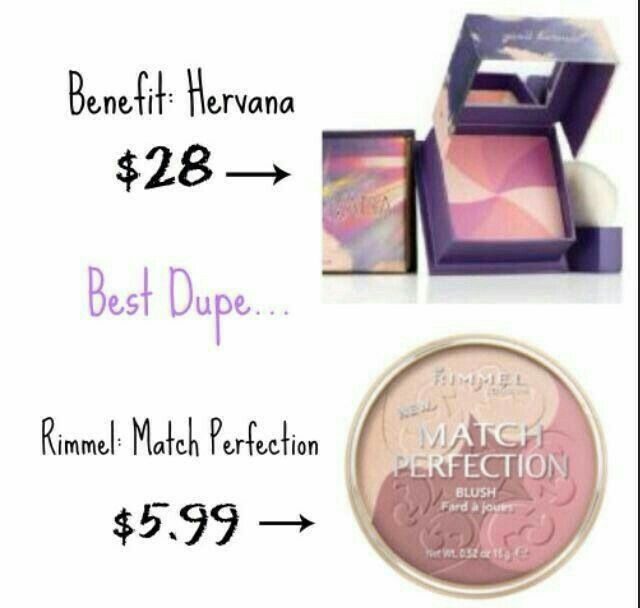 Benefit cosmetic highlighter dupes