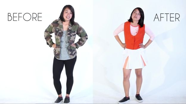 Cookie went for this ensemble for Ashly.   Watch These Hilarious Asian Moms Pick Out Outfits For Their Adult Children