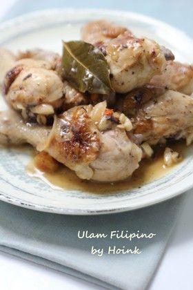 フィリピンの味★鶏肉の塩味アドボ★ by Hoink [クックパッド] 簡単 ...