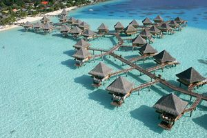 Bora Bora... Someday.   Not someday! My husband and I have actually done this and it's amazing!!!! Our favorite place yet!
