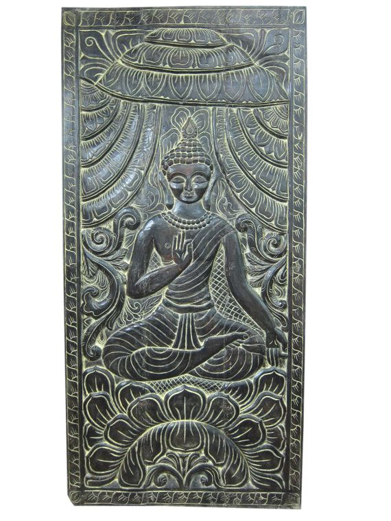 Indian Antique Carving Wall Panel Lord Buddha By MOGULGALLERY #carved Wall  Art, #carved Wood,#carved Wood Wall Panel, #hand Carved Wood, #carved Wood  Art ... Part 70