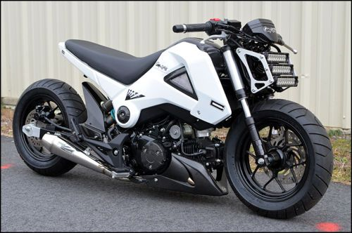 2013 Honda Grom MSX125 Custom For Sale - Bike-urious