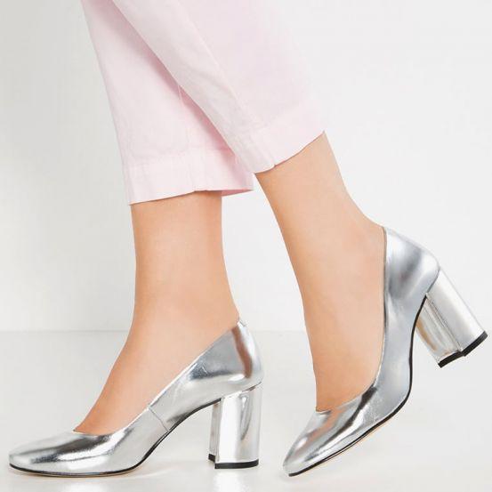 Zilveren schoenen