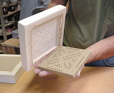 Ceramic Arts Daily – Making Multiples: Cavity Molds for Handmade Ceramic Tiles