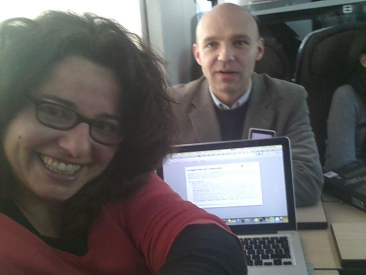 Un amico vero con cui viaggiare online e offline: @Matteo Piselli :D 21 marzo 2013 - in viaggio verso Milano per @Cowinning