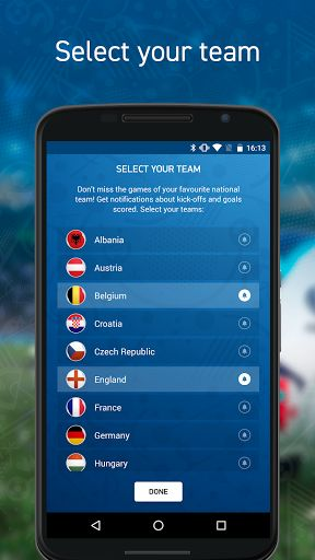 Euro Live PRO  Without ads v1.0.11   Euro Live PRO  Without ads v1.0.11Requirements:4.0Overview:Follow the matches and news of Euro Cup 16 in France! With our EURO LIVE app you will get everything live from the main European Football Tournament for the national teams.  Follow the matches and news of Euro Cup 16 in France! With our EURO LIVE app you will get everything live from the main European Football Tournament for the national teams.  Here is what you will find in the EURO LIVE app…
