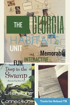 Hooray! Its time for Georgia Habitat Studies! These are super fun resources to make your habitat unit a success! I tie in regional specific childrens literature, an interactive wall map, research and unique writing topics to make your habitat unit sparkle!