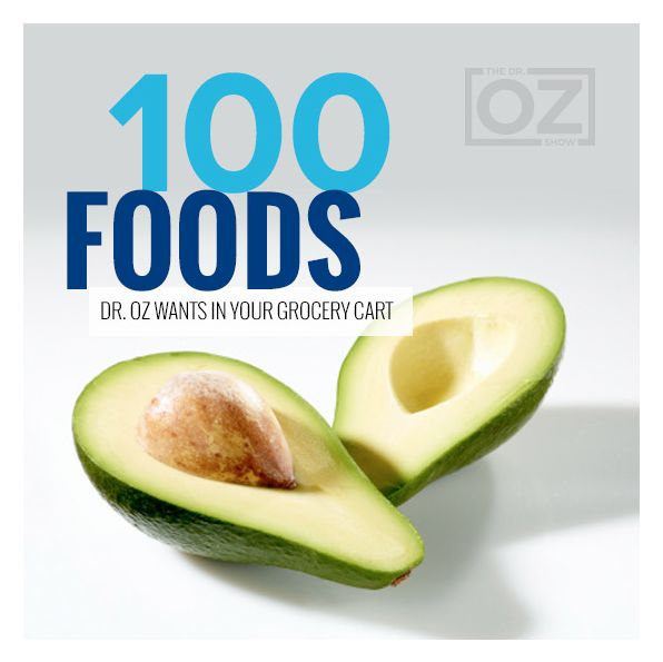 It's the only grocery list you'll ever need. Dr. Oz covers everything from produce to desserts to keep your kitchen stocked with only the healthiest foods.