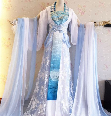 Chinese Traditional Princess Hanfu Dress Ancient Chinese ...