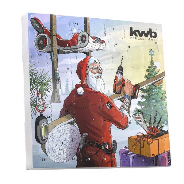 La calendrier de l'avent d'outils de la marque kwb pour bien commercer 2018 . le cadeau parfait pour les bricoleurs et pour les professionnels de vin dans le temps de Noël. Avec de nombreux outils utiles qui doivent en aucun budget et dans aucun atelier absence. Clair prix avantage, par rapport à l'achat des différents produits. De Contenu comme embouts, microbits, porte-embout, lampe, couteaux, etc.