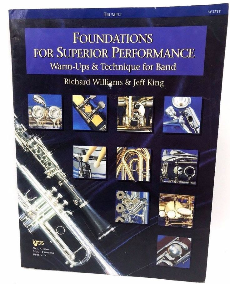 W32TP - FOUNDATIONS FOR SUPERIOR PERFORMANCE - TRUMPET By Jeff King  preown