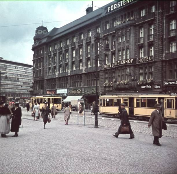 1940:Potsdamer Platz in Berlin